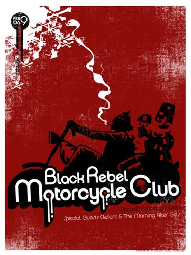 Neltner Creative - Black Rebel Motorcycle Club