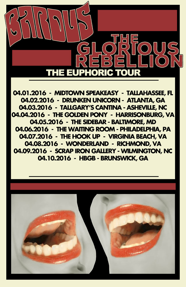 The Glorious Rebellion & Bardus Tour Dates